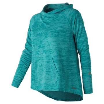 New Balance Hatha Hoodie, Pisces Heather