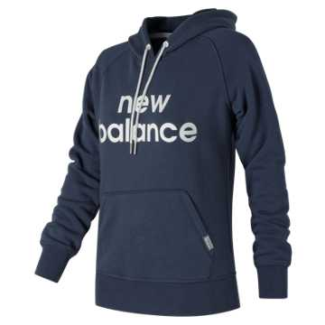 New Balance Classic Pullover Hoodie, Navy
