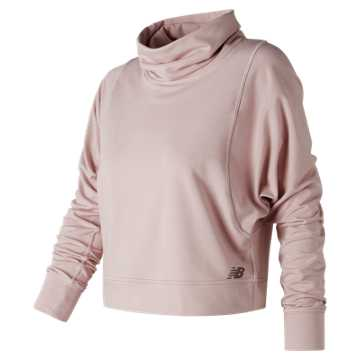 New Balance Intensity Funnel Neck, Faded Rose Heather