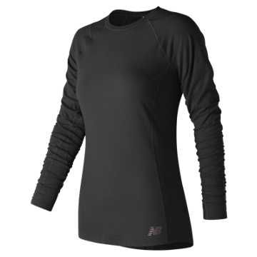 New Balance In Transit Long Sleeve, Black