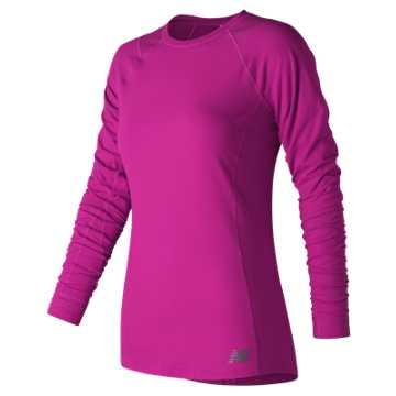 New Balance In Transit Long Sleeve, Poisonberry