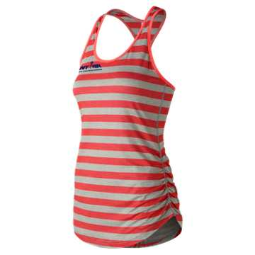 New Balance Run for Life Transform Perfect Printed Tank, Vivid Coral