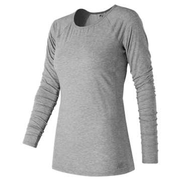 New Balance Long Sleeve Layer, Athletic Grey