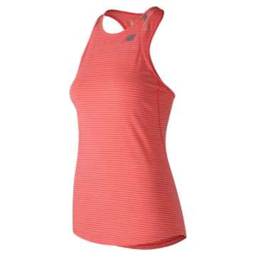 New Balance Seasonless Tank, Vivid Coral