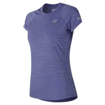New Balance Seasonless Short Sleeve, Blue Iris