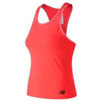 New Balance Tournament Racerback Tank, Vivid Coral