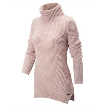 New Balance Cozy Pullover Sweater, Faded Rose