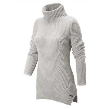 New Balance Cozy Pullover Sweater, Sea Salt