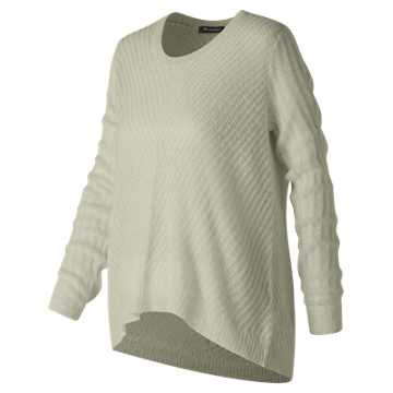New Balance En Route Sweater, Sea Salt