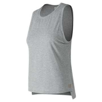 New Balance Graphic Layering Tank, Athletic Grey