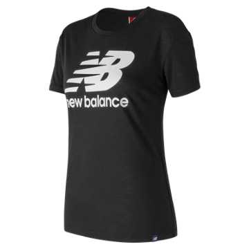 New Balance NB Logo Tee, Black