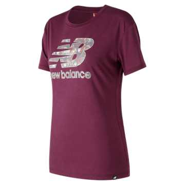 New Balance NB Logo Tee, Winter Sky