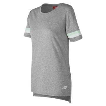 New Balance NB Athletics Tunic Tee, Athletic Grey