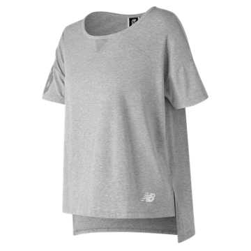 New Balance 247 Sport Boxy Tee, Athletic Grey