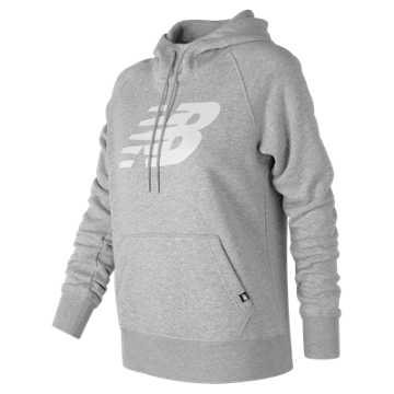 New Balance Essentials Pullover Hoodie, Athletic Grey