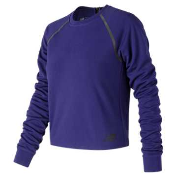 New Balance 247 Luxe Crop Long Sleeve, Tempest