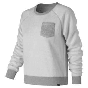 New Balance Essentials Crew Reverse, Athletic Grey