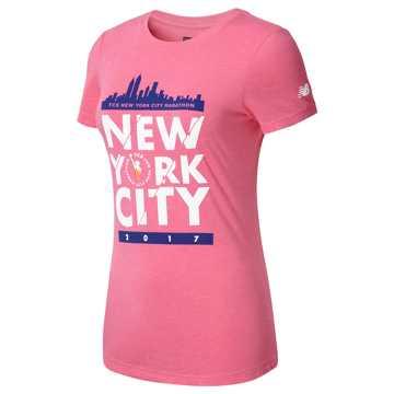 New Balance NYC Marathon Tee, Pink