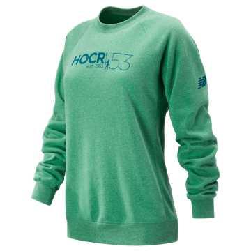New Balance HOCR Pullover Sweatshirt, Seafoam