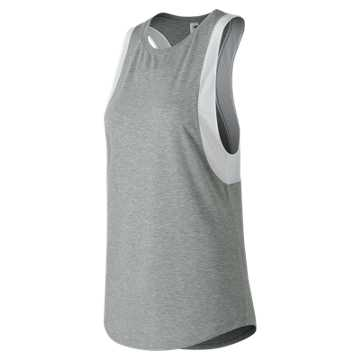 New Balance Determination Tank, Athletic Grey
