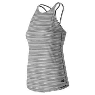 New Balance Transform Tank, Black with White