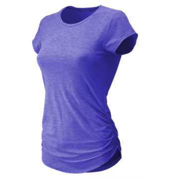 New Balance Transform Perfect Tee, Ice Violet Heather