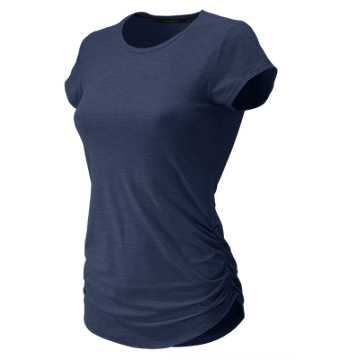 New Balance Transform Perfect Tee, Pigment Heather