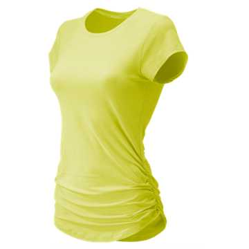 New Balance Transform Perfect Tee, Solar Yellow Heather
