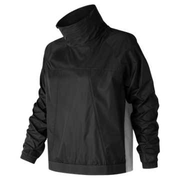 New Balance NB Athletics Anorak, Black