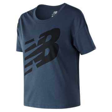 New Balance Essentials NB Tee, Vintage Indigo