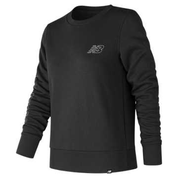 New Balance Essentials Blueprint Crew, Black