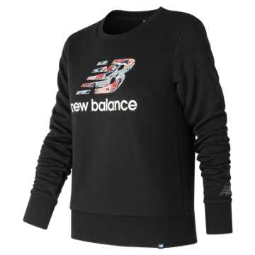 New Balance Essentials Shoe Crew, Black