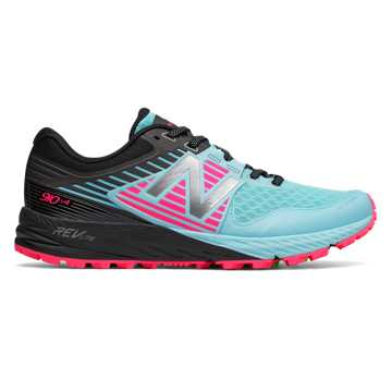 New Balance 910v4 Trail, Sea Spray with Alpha Pink \u0026 Black