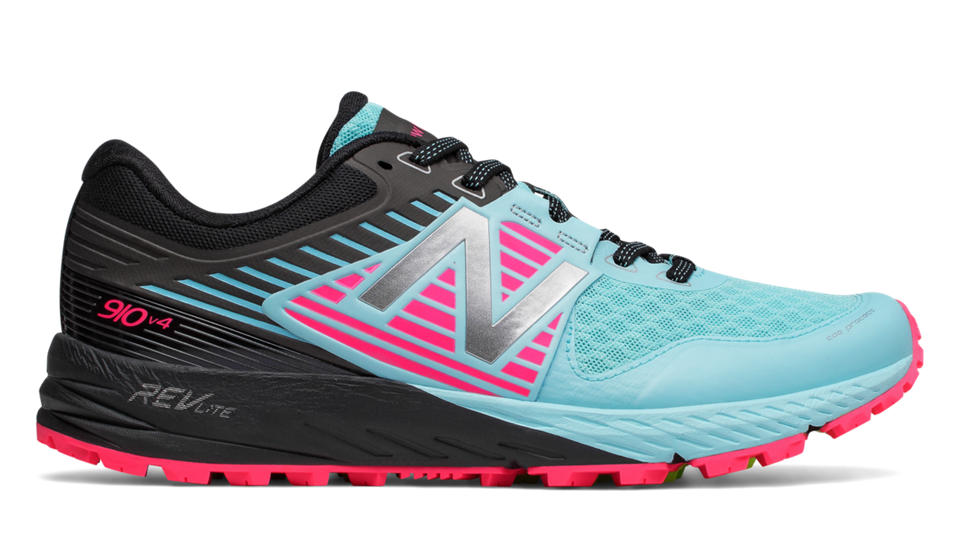 New Balance 910v4 Trail Sea Spray With Alpha Pink Black