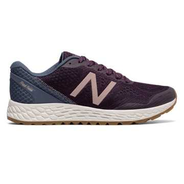 New Balance Fresh Foam Gobi Trail v2, Aubergine with Vintage Indigo & Rose Gold
