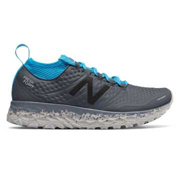 New Balance Fresh Foam Hierro v3, Thunder with Maldives Blue