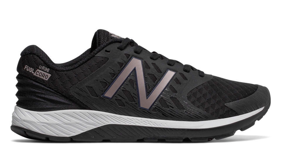 New Balance FuelCore Urge v2, Black with Champagne Metallic