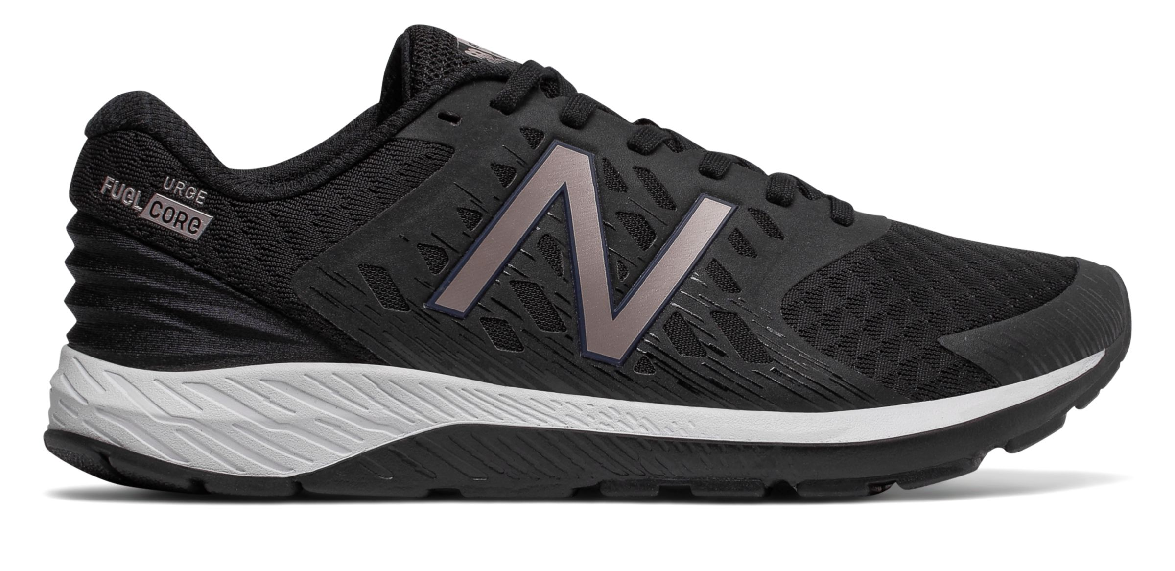NB FuelCore Urge v2, Black with Champagne Metallic