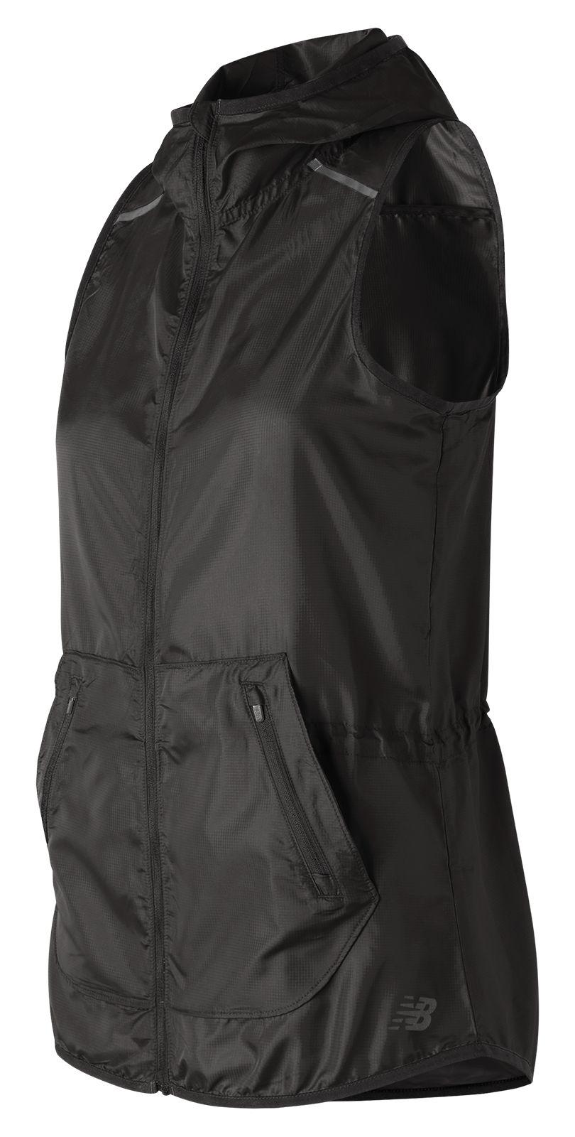 NB Windcheater Vest, Black