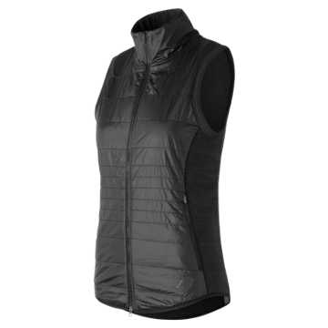 New Balance NB Heat Hybrid Vest, Black