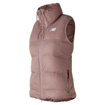 New Balance 247 Sport Thermal Vest, Champagne Metallic