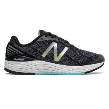 New Balance Fresh Foam Vongo v2, Black with Sea Spray
