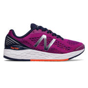 New Balance Fresh Foam Vongo v2, Poisonberry with Vivid Tangerine