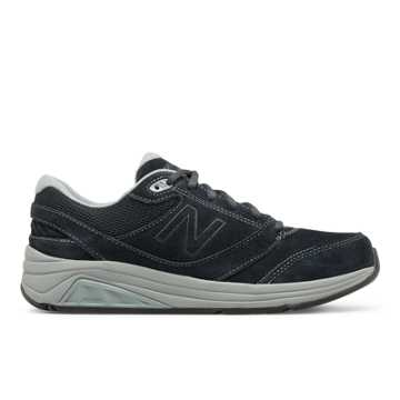 New Balance Womens Suede 928v3, Navy with Grey