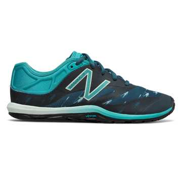 New Balance HOCR Minimus 20v6 Trainer, Dark Blue with Teal