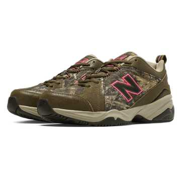 New Balance New Balance 608v4, Brown with Tan & Pink Glo