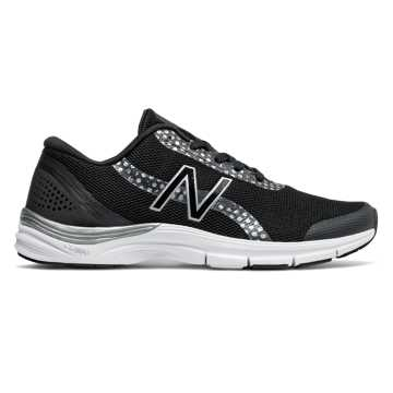 New Balance 711女子训练鞋 舒适透气 疾速回弹, 黑色/花色