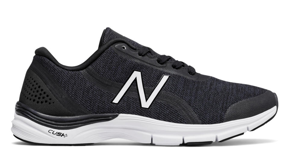 Womens New Balance WX711V2 Black Training Shoes Z63035