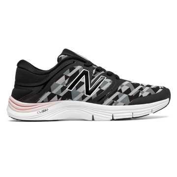 New Balance New Balance 711v2 Graphic Trainer, Black with White & Light Grey