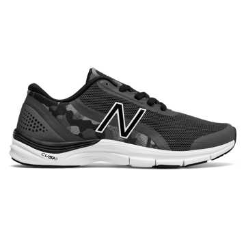 New Balance 711v3 Graphic Trainer, Grey with Black